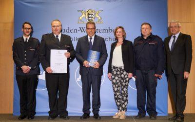 Auszeichnung als Ehrenamtsfreundlicher Arbeitgeber